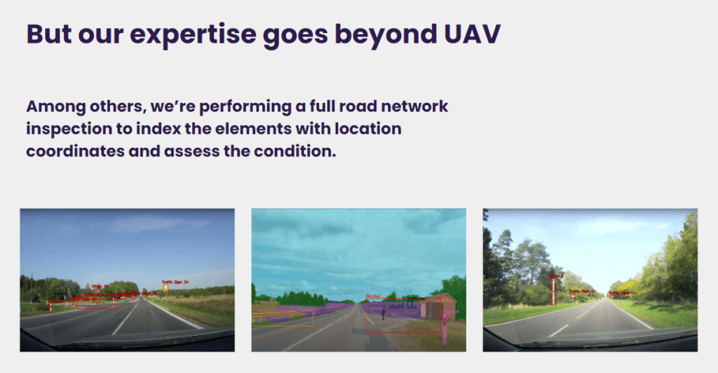 Our expertise goes beyond UAV